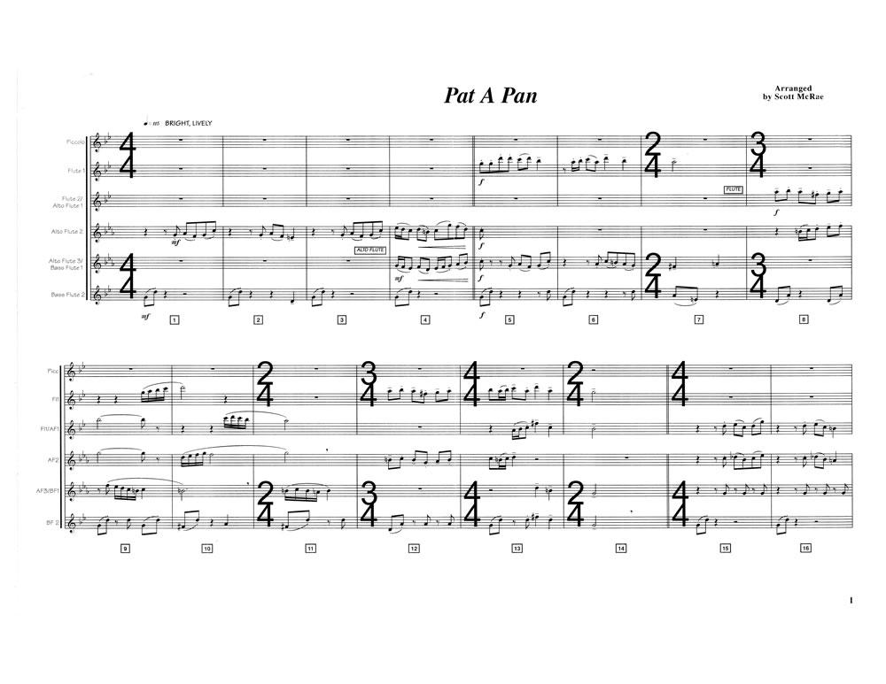 Pat A Pan SCORE page 1