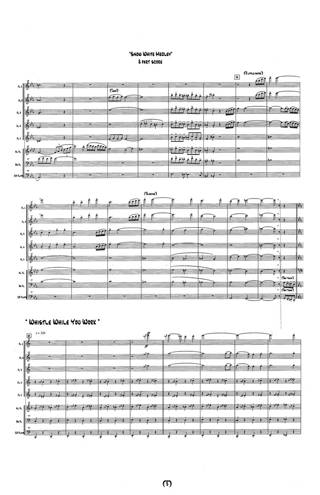 Snow White Medley Score Page 5